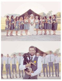 so wish I could have the dogs at the wedding!!! love this idea still