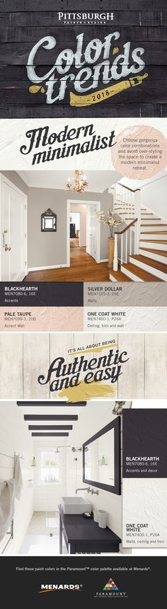 Paint Colors - Interior & Exterior Paint Colors For Any Project House Design, Home, Home Remodeling, House Styles, Paint Colors, Home Deco, Room Colors, Trending Paint Colors, House Colors