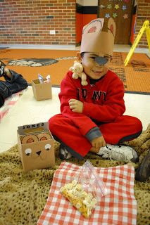 Little Warriors: Teddy Bear Picnic & Math and literacy centers