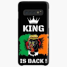 'King Is Back ! - Conor McGregor' Case/Skin for Samsung Galaxy by RIVEofficial