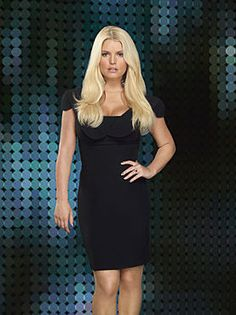 love the little black dress. Jessica Simpson #FashionStar