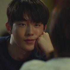 Nam Joo Hyuk Smile, Nam Joo Hyuk Cute, Korean Star, Korean Men, Korean Actors, Asian Actors, Weightlifting Fairy Kim Bok Joo Wallpapers, Male Stories, Nam Joo Hyuk Wallpaper