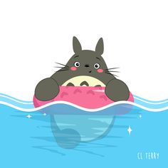 Totoro's Daily Life in Funny GIFs – Fubiz Media