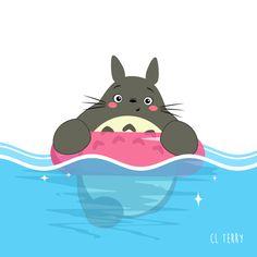 Totoro's Daily Life in Funny GIFs – Fubiz Media