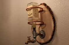 Wall Mounted Whiskey Dispenser by VintageDrinking on Etsy