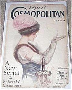 Cosmopolitan del 1912, copertina di Harrison Fisher