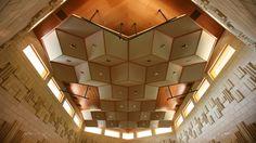 Manifold Recording Studio Ceiling.