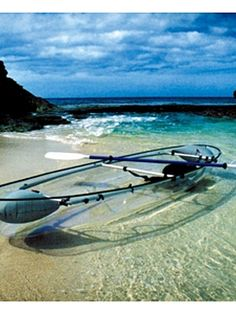 See-through kayak! Yes!