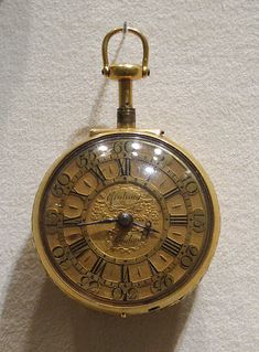 Pair-case repeating watch  Watchmaker: George Graham  (1673–1751; Clockmakers' Company 1695; master, Clockmakers' Company 1722)  Maker: Case maker: William Sherwood Sr. (born ca. 1672, working ca. 1694–1728) Date: 1720–21