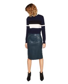 FAUX LEATHER PENCIL SKIRT-SKIRTS-WOMAN | ZARA United States