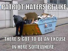 #Patriot #Haters #Dumpster