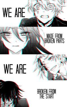 anime girl broken - Google Search