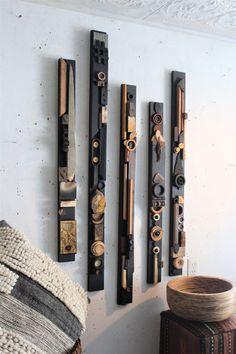 Wooden Wall Art, Wood Wall, Canvas Wall Art, Wood Sculpture, Wall Sculptures, Ceramic Sculptures, Diy Arts And Crafts, Wood Crafts, Wall Groupings