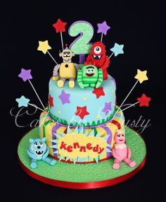 Cakes by Dusty:  Yo Gabba Gabba cake