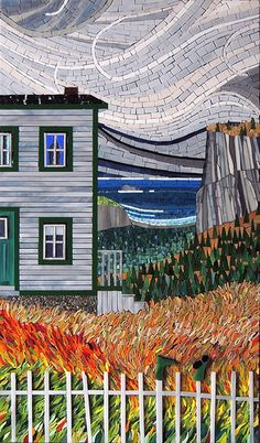 Day's End mosaic - Terry Nicholis