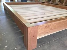 Bed Frames - Buy New Furniture The Easiest Way By Making Use Of These Guidelines Simple Bed Frame, Mattress Dimensions, Bed Platform, Hardwood Furniture, Bed Rails, Wood Beds, High Quality Furniture, Diy Bed, Outdoor Decor