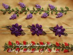 Suzana Mustafa: Ribbon Embroidery