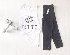 Workout Essentials { Monochrome Tones } #femmebodyactive #movewithpurpose Workout Essentials, Body, Monochrome, Sweatpants, Collection, Fashion, Woman, Moda, Monochrome Painting
