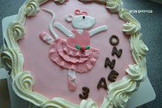 Kirsin keittiössä: Anniina Balleriina - täytekakku