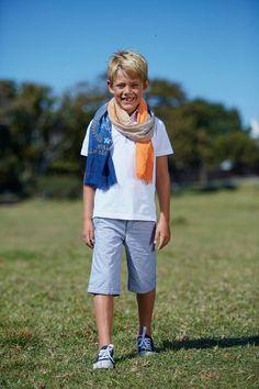 #YCC #littleboy #chic #White #kids #garden #nature #fashion #ss15 #spring #summer www.zgeneration.com/it/