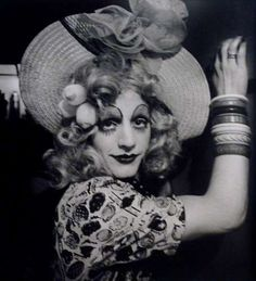 Portrait of Cockette, 1972    photo by Charles Gatewood