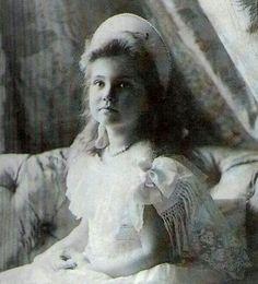 Grand Duchess Maria Nikolaevna Romanova Of Russia