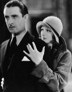 Greta Garbo and John Gilbert, A Woman of Affairs, 1928 Divas, Emotional Messages, John Gilbert, Silent Film Stars, Thing 1, Oscar, Beautiful Couple, Affair, Documentaries