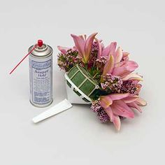 Bouquet Hold Spray Adhesive Can