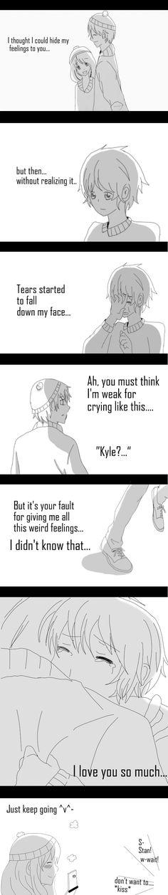 Style South Park Stan X Kyle Feelings by raisuke143 on deviantART