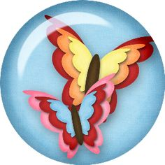 Osos, Botones, Mariposas, Flores Png para Manualidades para Chicos