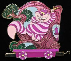 Walt Disney Pins, Trading Disney Pins, Value Of Disney Pins Disney Magic, Walt Disney, Alice In Wonderland Clipart, Disney Pin Collections, Disney Pins For Sale, Disney Trading Pins, Cat Pin, Pin And Patches, Cheshire Cat
