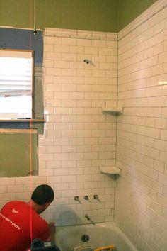 Amazing corner shower shelf tile Outdoor Audio Visual Systems Septic Tanks Home Remodeling craft room Contemporary Large Classic Bathroom, Modern Bathroom Light Fixtures, Tile Design, Master Bathroom Design, Bathroom Tile Designs, Bathroom Flooring, Shower Shelves, Rustic Storage, Bathroom Design