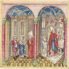 Meisterlin, Sigismundus / Mülich, Hektor: Augsburger Chronik -  SuStB Augsburg 2 Cod H 1 - 1457 -  Folio 181