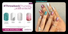Loving this week's #TBT #Jamberry wraps!  Some really sought after options are back for the weekend :) Which ones do you love? www.fabulousfingers.net