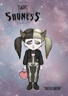 Sadie Sadness from the series DEdollMON by SART