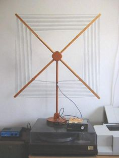 This stealth antenna is a work of art that I wouldn't mind having in my home!