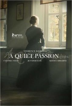 A Quiet Passion by Terence Davies. #Berlinale Special Gala.   Poster.