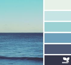 Sea blues ~ design seeds