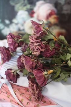 Dried Roses From The Garden ~