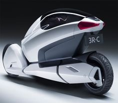 Concept transportation Electric trycycle 3R-C