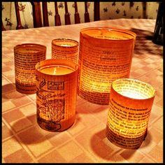Lord of the Rings Candles