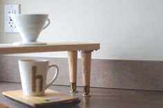 {diy} pourover coffee station. � hk in love.