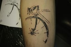 Campagnolo bicycle tattoo