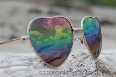Photo that taken in Maine #rainbow #peace #heart #love #sunglasses