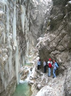 """The next time you find yourself frolicking the Austrian countryside, come summer or winter, be sure to make a stop at the many natural gorges meandering through the country. """"Klamms,"""" the German wo..."""