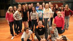 """Check out photos from one of Springdale High School's first rehearsal of """"Willy Wonka."""""""