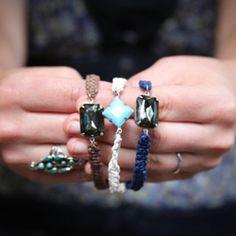 The new friendship bracelet comes fancier with jewels.