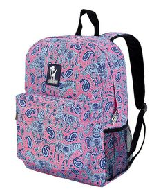 Another great find on #zulily! Pink Paisley Ponies Crackerjack Backpack by Wildkin #zulilyfinds