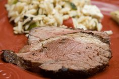 Rosemary Garlic Leg of Lamb