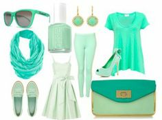 Mint Green everything